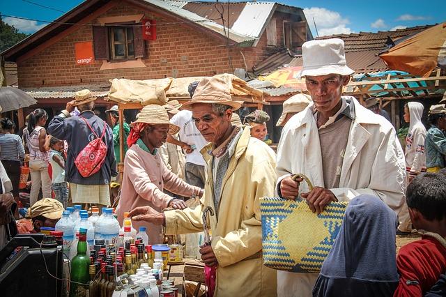 chudoba na Madagaskaru