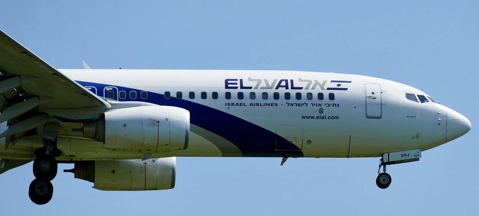 izraelské letadlo