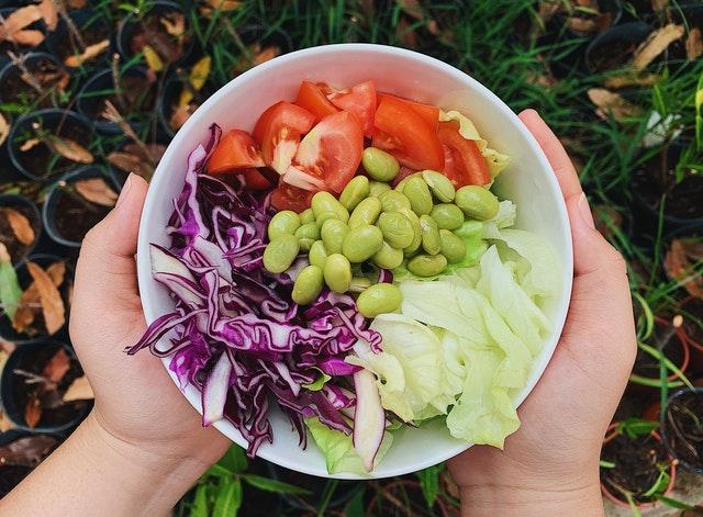 zeleninový talíř